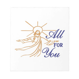 All For You Memo Notepad