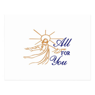 All For You Postcard