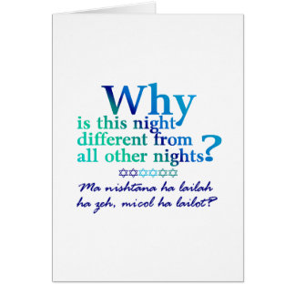 All Four Questions Greeting Card