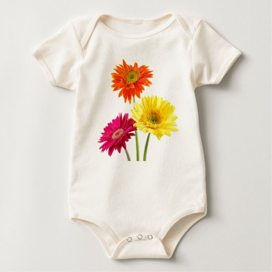 All Gerbera Daisies Baby Bodysuit