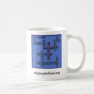 All Glory to God Coffee Mug