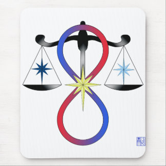All Gods Universal Power Color - Religious Symbol Mouse Mat
