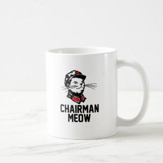 All hail Chairman Meow Basic White Mug