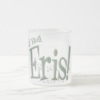 All Hail Planet Eris Frosted Glass Mug