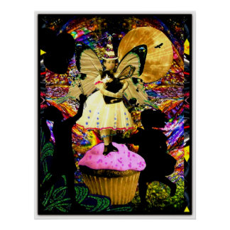 All Hail The Cupcake Fairy Poster