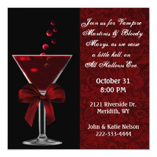All Hallows Eve Party Invitaton 13 Cm X 13 Cm Square Invitation Card
