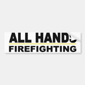 All Hands Bumper Sticker