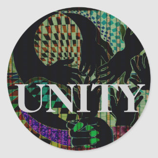 All Hands Political Action Diversity Unity Sticker