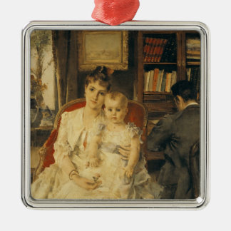All Happiness  c.1880 Christmas Ornament
