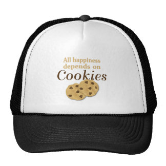 All happiness depends on cookies cap