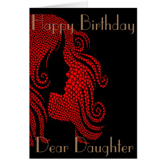 ALL HEART DAUGHTER GREETING CARD