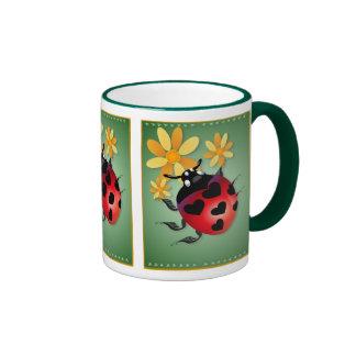 All Heart Ladybug Mugs