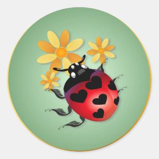 All Heart Ladybug Stickers