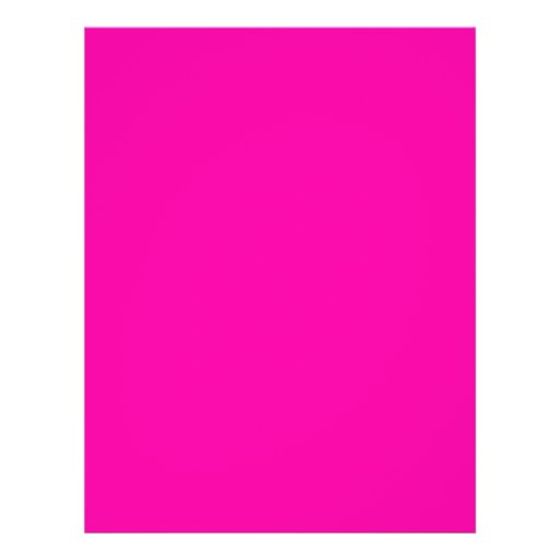 All Hot Pink Nothing But Color Pink Full Color Flyer