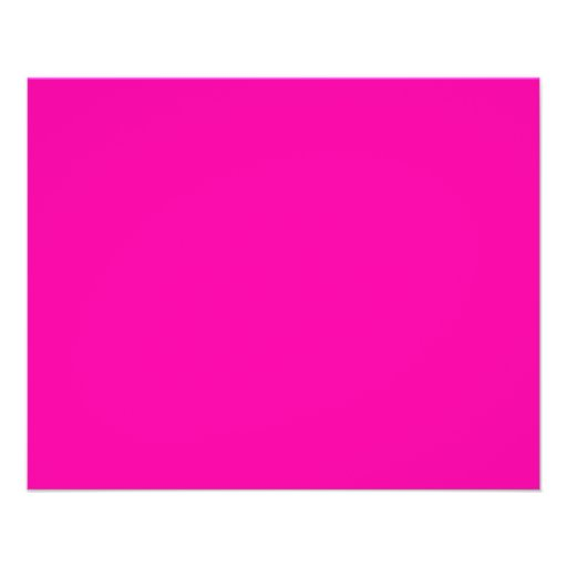 All Hot Pink Nothing But Color Pink Flyers