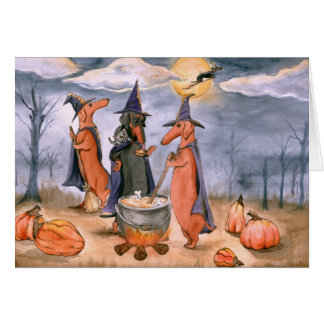 All Howls Eve Greeting Cards