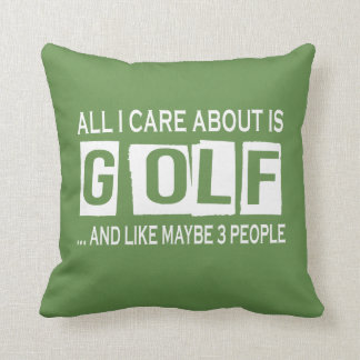 All I Care About Is Golf Cushion