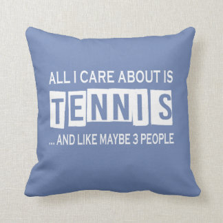 All I Care About Is Tennis Cushion