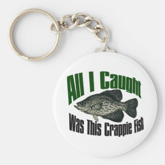 All I caught was this crappie fish keychain