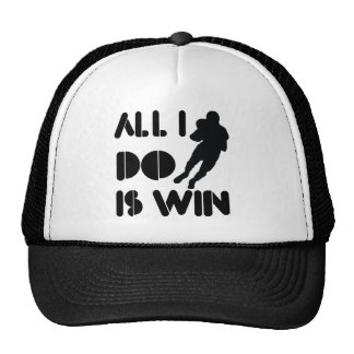 All I Do Is Win At American Football Trucker Hat
