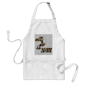 All I Do is Win in Gold Apron