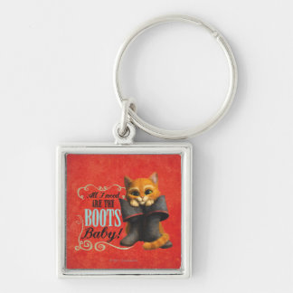 All I Need Are The Boots (color) Key Ring