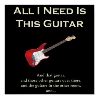All I Need is This Guitar, Funny, Humor