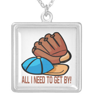 All I Need Square Pendant Necklace