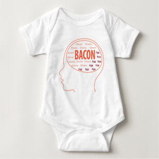 All I think is Bacon Baby Bodysuit