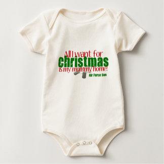 All I want AF Son Mom Baby Bodysuit