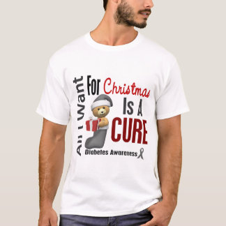 All I Want For Christmas Diabetes T-Shirt