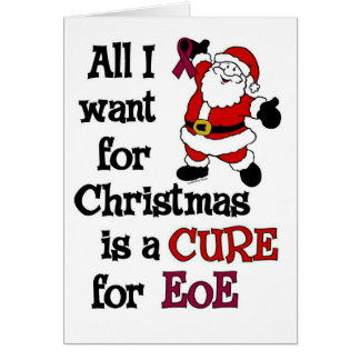 All I Want For Christmas...EoE Greeting Card