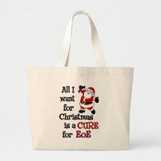 All I Want For Christmas...EoE Jumbo Tote Bag