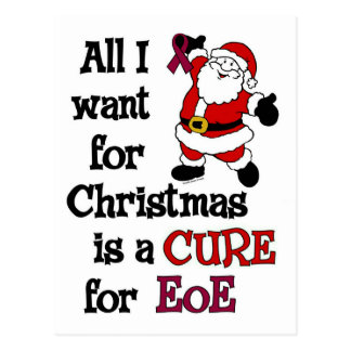All I Want For Christmas...EoE Postcard
