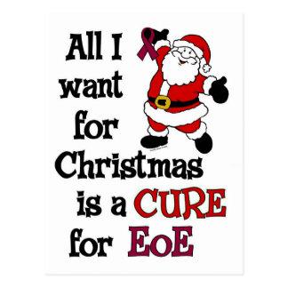All I Want For Christmas...EoE Postcard