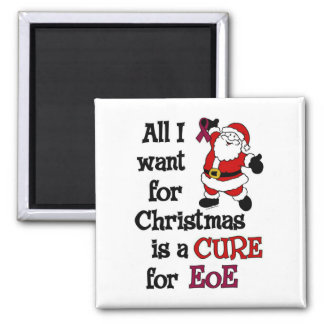 All I Want For Christmas...EoE Square Magnet