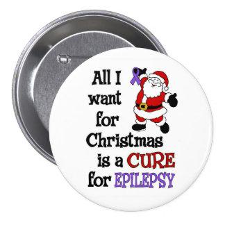 All I Want For Christmas...Epilepsy 7.5 Cm Round Badge