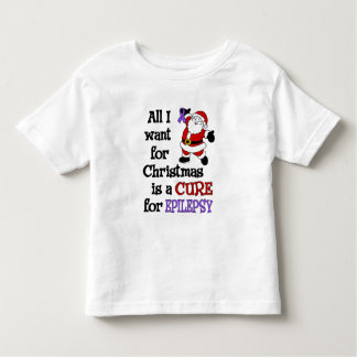 All I Want For Christmas...Epilepsy Toddler T-Shirt