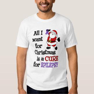 All I Want For Christmas...Epilepsy Tshirt