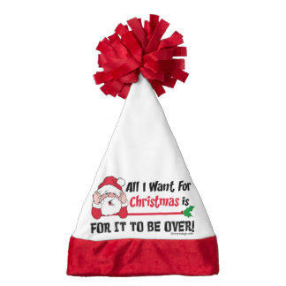 All I want for Christmas Santa Hat