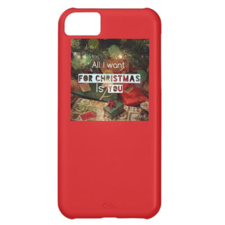 All I want for christmas iphone 5 case