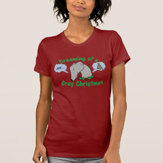 All I want for Christmas is a greyhound! Tshirt