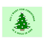 All I Want For Christmas Is A Hole In One