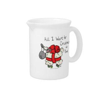 All I Want for Christmas is Ewe Coffee Mug Pitcher
