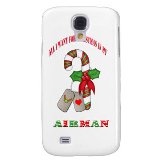 All I Want For Christmas Is My Airman IPhone 3 Cas Galaxy S4 Case