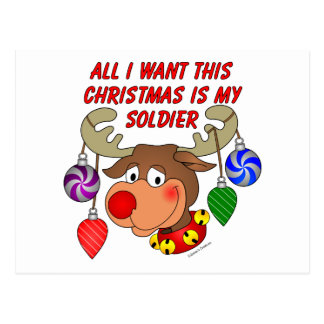 All I want for Christmas is my Soldier Postcard