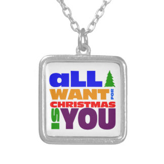 All I want for Christmas is you Pendants
