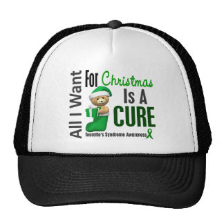 All I Want For Christmas Tourette's Syndrome Trucker Hat