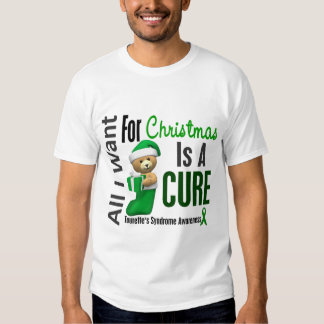 All I Want For Christmas Tourette's Syndrome Shirts