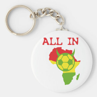 all in africa basic round button key ring